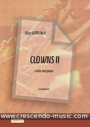 View a sample page! Clowns II - 6 easy pieces for violin - Gistelinck, Elias