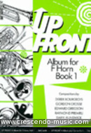Up front, Album for F horn - Grade 1. Album