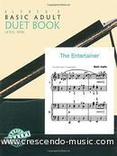 Adult duet book - 1. Alfred's Basic Piano Library