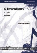 Voir le contenu! 6 Inventions in two parts - Heremans, Noel