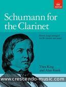 Schumann for the clarinet. Schumann, Robert