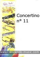 View a sample page! Concertino no.11 pour flute et piano - Porret, Julien