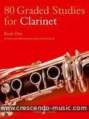 80 Graded studies - 1 (Clarinet). Davies, John
