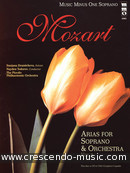 Opera Arias for Soprano And Orchestra – Vol.2. Mozart, Wolfgang Amadeus