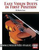 Easy violin duets in first position. Isaac, Burton