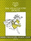 The 4 country dances. Carroll, Walter