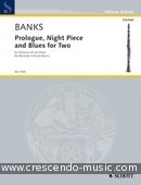 Prologue, night piece and blues for two. Banks, Don