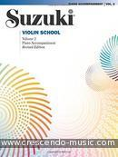 Suzuki Violin school - 2 (Piano acc., Revised edition). Suzuki, Shinichi
