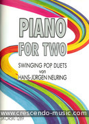 Piano for two, swinging pop duets. Neuring, Hans-Jurgen