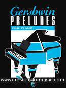 Preludes for piano. Gershwin, George