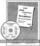 Basic Jazz Conception - Vol.2 (Book & cd). Niehaus, Lennie