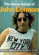 The great songs of John Lennon. Lennon, John