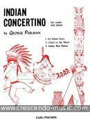 Indian concertino. Perlman, George