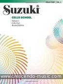 Suzuki Cello School - Vol.1 (Cello part - Revised ed.). Suzuki, Shinichi