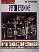 Drum Concepts and Techniques. Erskine, Peter