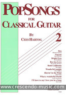 Popsongs for classical guitar - 2. Album