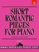Short romantic pieces for piano - Vol.4. Album