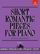 Short romantic pieces for piano - Vol.5. Album