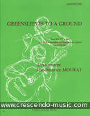 Greensleeves to a ground. Mourat, Jean-Maurice