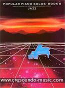 Popular Piano Solos - Book 8 (Jazz). Album