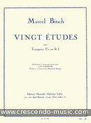View a sample page! 20 Etudes - Bitsch, Marcel