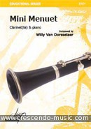 Mini menuet. Van Dorsselaer, Willy