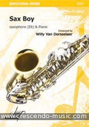 View a sample page! Sax boy - Van Dorsselaer, Willy