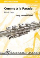 Comme a la parade. Van Dorsselaer, Willy
