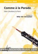 View a sample page! Comme a la parade - Van Dorsselaer, Willy