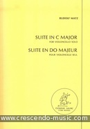Suite in C major. Matz, Rudolf