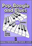 Pop, boogie and blues - Book 1. Beeftink, Herman