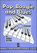 Pop, boogie and blues - Book 2. Beeftink, Herman