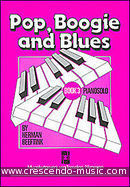 Pop, boogie and blues - Book 3. Beeftink, Herman