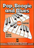 Pop, boogie and blues - Book 4. Beeftink, Herman