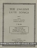 The first book of songs. Pilkington, Francis