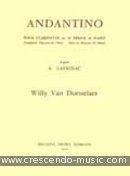 Andantino. Van Dorsselaer, Willy