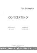 View a sample page! Concertino - Bartsch, Charles