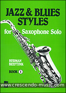 Jazz & blues styles - Book 1. Beeftink, Herman
