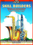 Skill builders - Book 1 Bassoon. Balent, Andrew