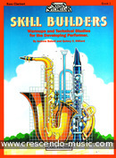 Skill builders - Book 1 Bass clarinet. Balent, Andrew
