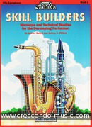 Skill builders - Book 1 Alto saxophone. Balent, Andrew