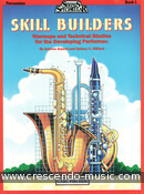 Skill builders - Book 1 Percussion. Balent, Andrew