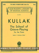The school of octave-playing - Vol.1. Kullak, Theodor