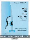 Ode to the guitar - 1. Dodgson, Stephen