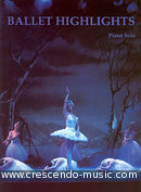 Ballet highlights for piano solo. Album