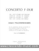 View a sample page! Concerto F-Dur (Partituur) - Falckenhagen, Adam