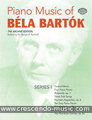 Piano music of Bela Bartok - 1. Bartok, Bela