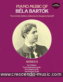 Piano music of Bela Bartok - 2. Bartok, Bela