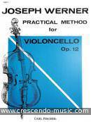 Practical method for cello, Op.12 - 1. Werner, Joseph