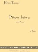 Pieces breves - Suite 1. Tomasi, Henri